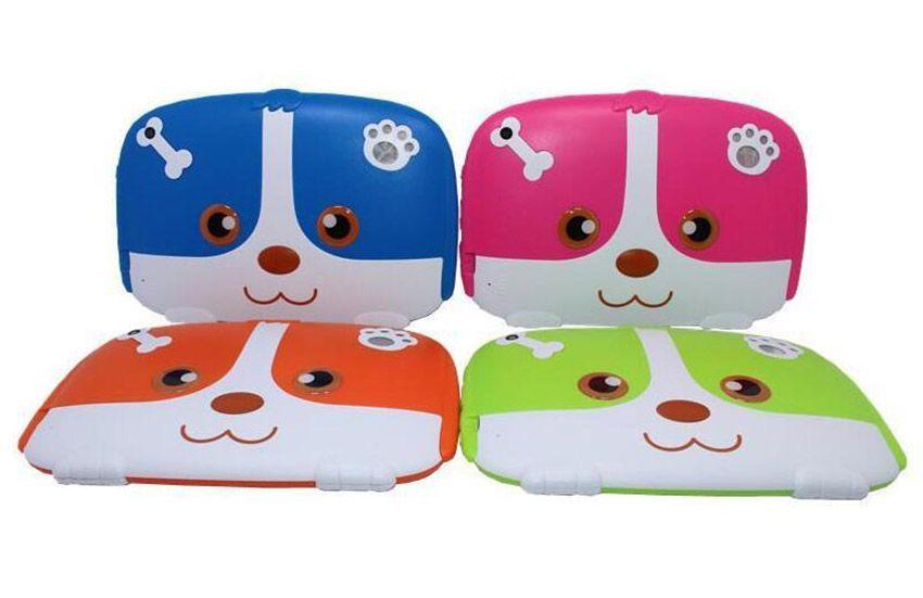 Kids Brand Tablet PC 7 7 inch Quad Core children Cute cartoon dog tablet  Android 4 4 Allwinner A33 google player 512MB RAM 8GB ROM 100X DHL