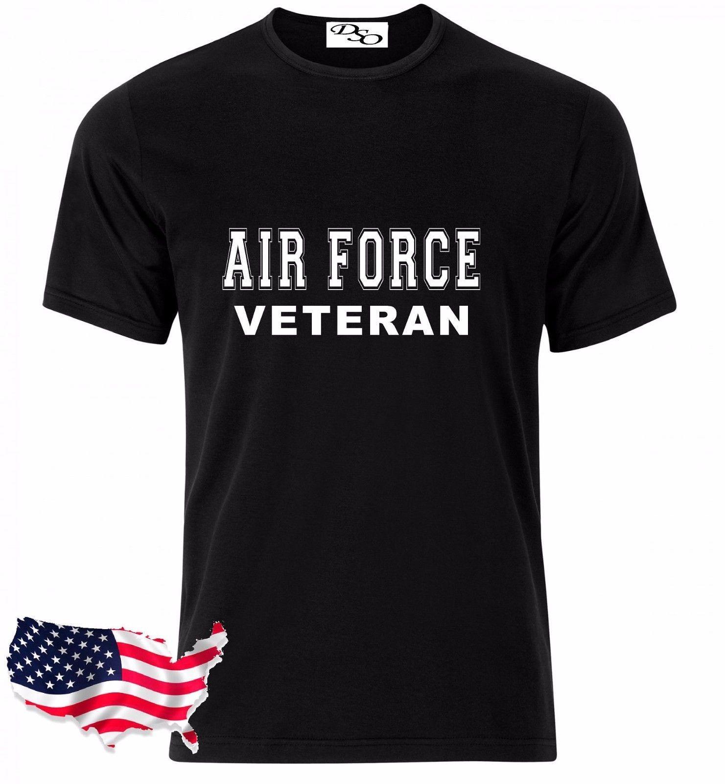 239c2bb8 Air Force T Shirt VETERAN USAF USMC US Army Navy Marines Military Funny  Unisex Casual Tshirt Top Crazy T Shirts T Shirt Prints From Teeslocker, ...