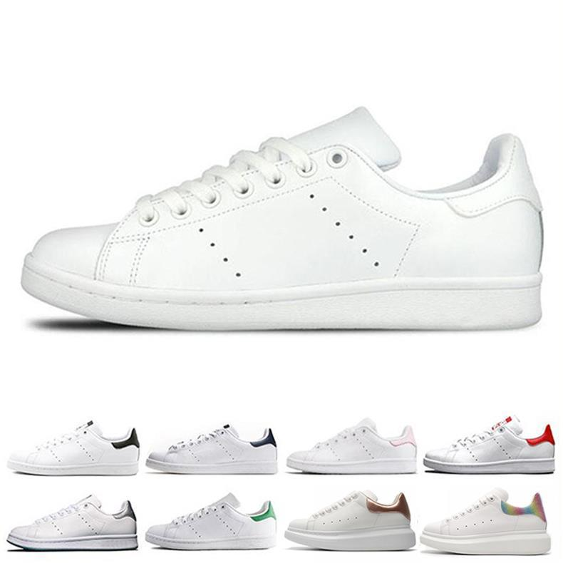 outlet store c0282 d1037 2018 Hot sale Lowest Price NEW STAN SMITH SNEAKERS CASUAL LEATHER MEN'S AND  WOMEN 'S fashion luxury mens women designer sandals shoes