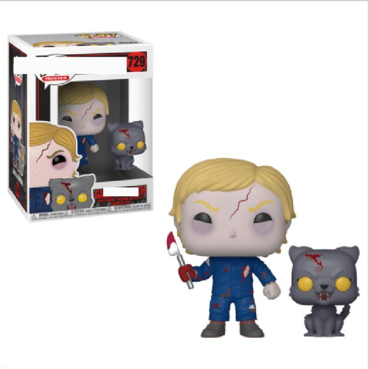Funko Pop Pet Sematary - Gage and Church Vinyl Action Figure With Box #729 Gift Toy Free Shipping