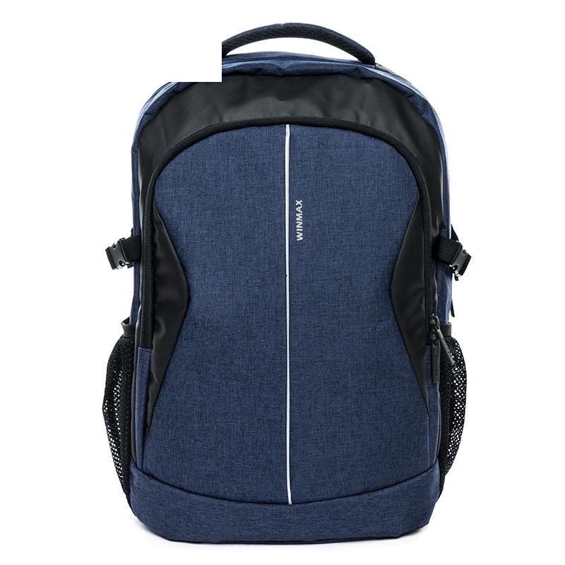 good quality New Women Men Backpack For 15.6 Inches Laptop Backpack Large Capacity Stundet Fashion Backpack Casual Style Notebook Bag