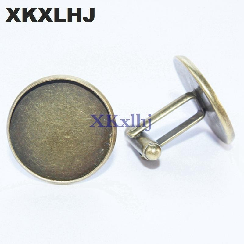 XKXLHJ New Toucan Cufflinks Advertising Beer Cufflinks High Quality Silver Copper Round Fashion Men and Women Business Buttons