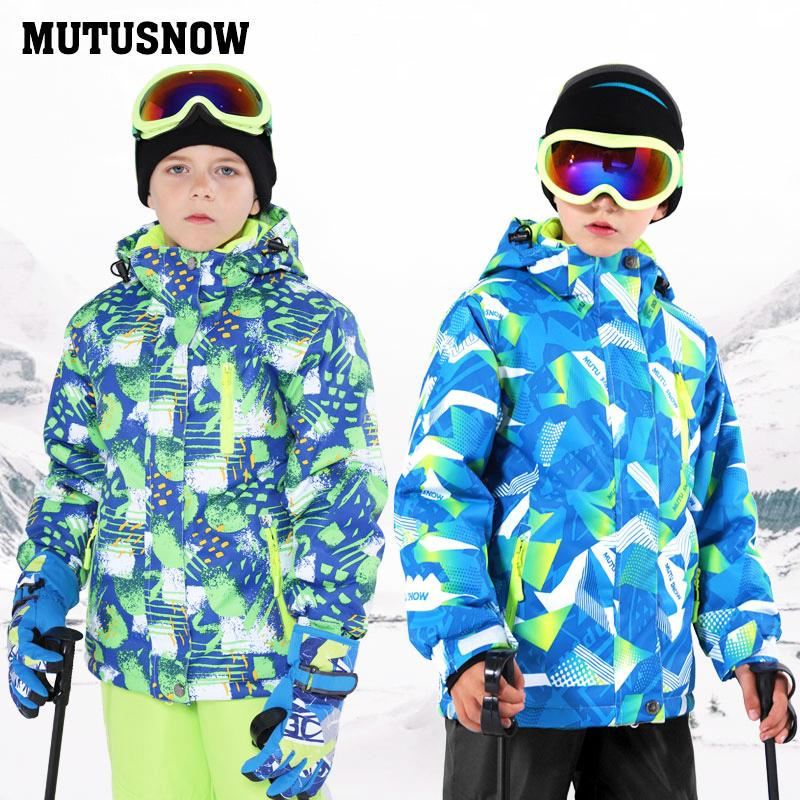62e7f8c68de 2019 Kids Ski Suit Children Brands Windproof Waterproof Warm Girls And Boy  Snow Set Pants Winter Skiing And Snowboarding Jacket Child C18112301 From  ...