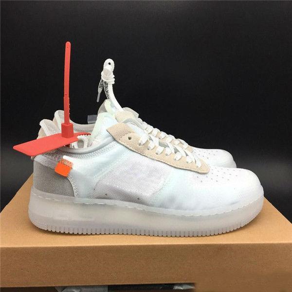 nouvelle arrivee 905e0 1f330 2019 OFF-White x Air Force 1 Vente Chaude Force One Bas Chaussures De  Course Supérieur Hommes Femmes Édition Limitée De Mode Designer Casual ...