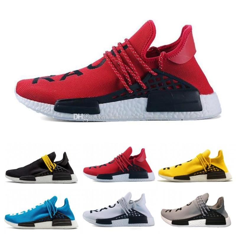 b4dd1c72199ea Human Race Running Shoes Men Women Pharrell Williams HU Runner ...