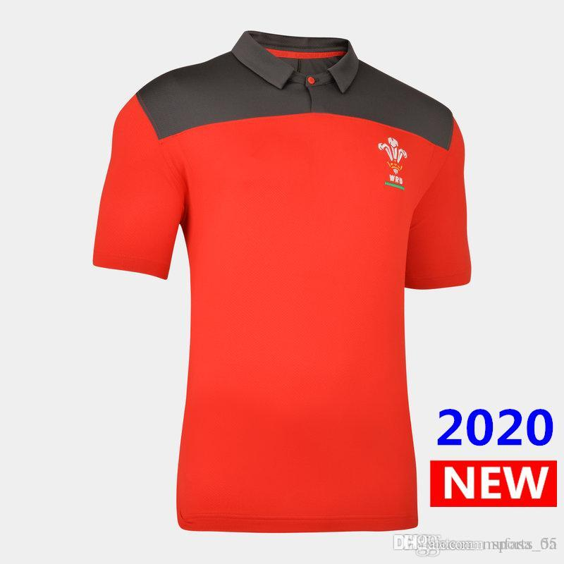 Best Quality 2020 Wales home Rugby jersey national team Wales rugby jerseys Players Rugby P olo shirt s-5xl