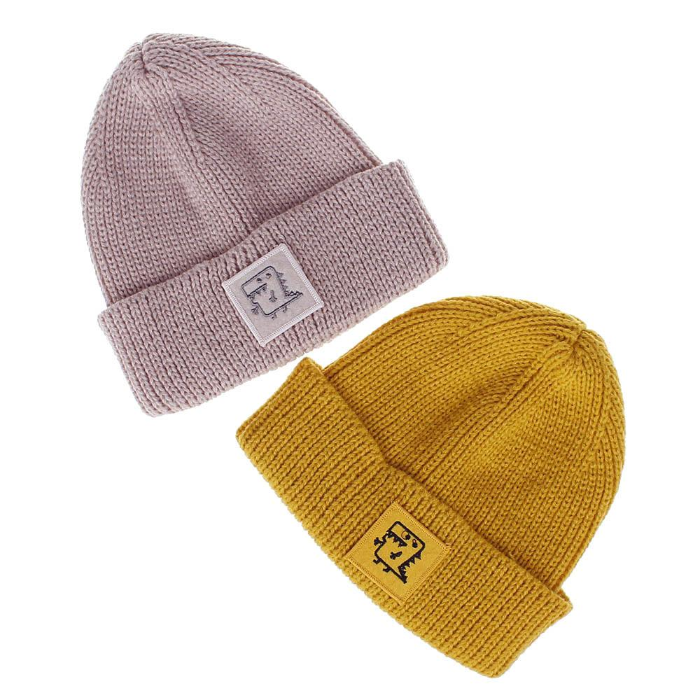 fba4d81e236 2019 20 18cm New Hot Children S Small Dinosaur Cartoon Wool Knit Hat Autumn  And Winter