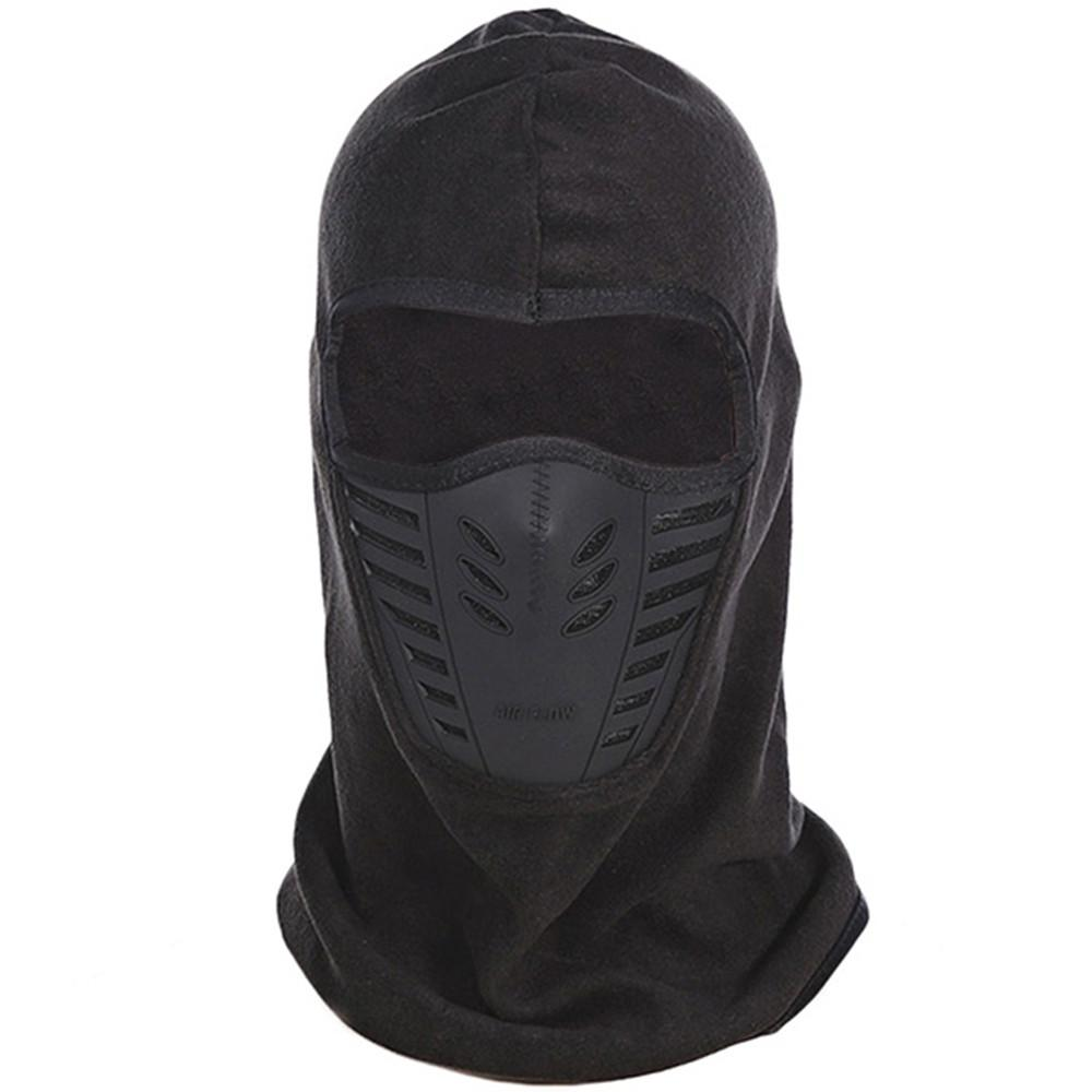 Windproof Winter Warm Thermal Fleece Cycling Face Mask Cap Ski Bike ... 27251a3fdb84