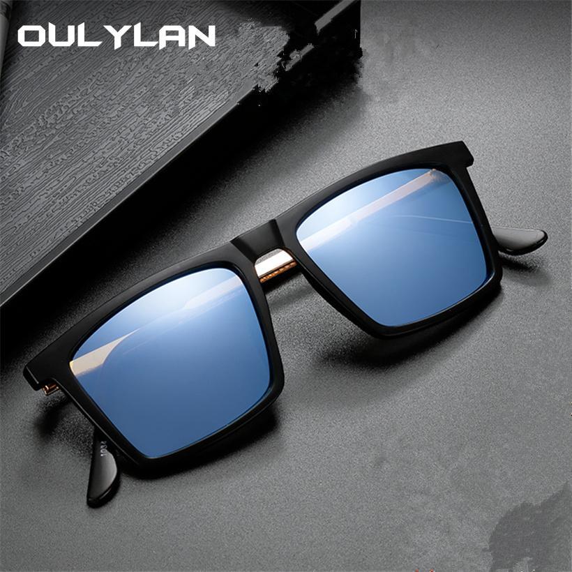 ca1ac106187f1 Oulylan Classic Polarized Sunglasses Men Women Driving Rectangle Sun ...
