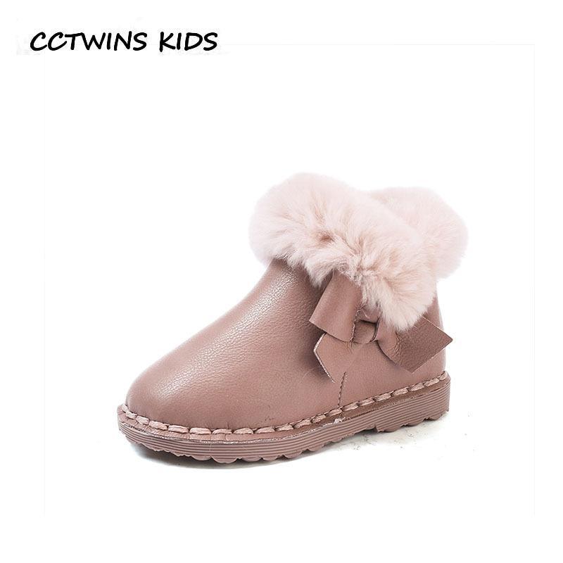 58e1de74a4cbb acheter cctwins enfants hiver enfants papillon botte bb fille pu en cuir chaussure  toddler marque cheville chaude cheville botte cf de du with botte bb ...