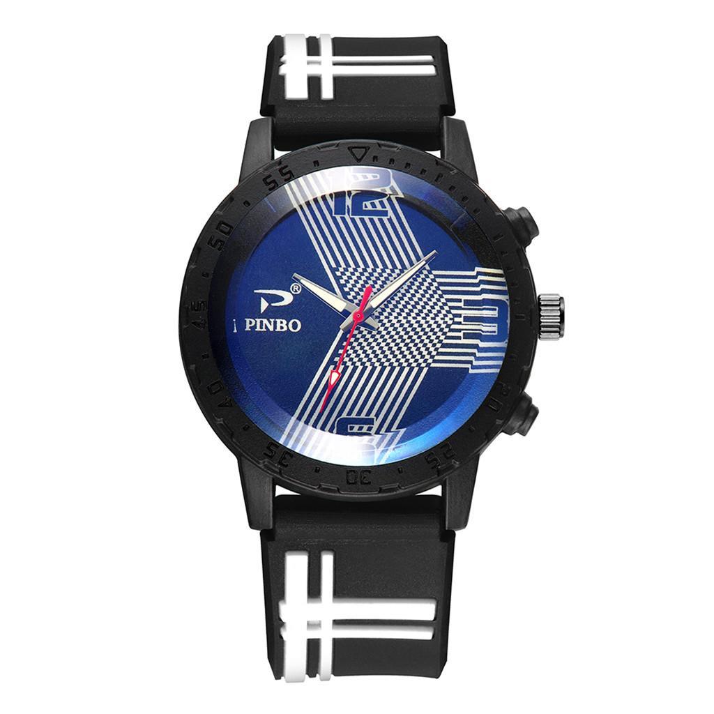 f37466a4709f Compre Relogio Masculino Relojes Hombres Suave Correa De Caucho De Silicona  Reloj De Moda Deportiva Reloj De Pulsera De Cuarzo Simulado Hombre De  Negocios A ...