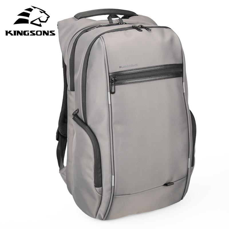 761f1c9850aa Kingsons 17 Inch External USB Charging Men S Backpack For Computer Bag  Women Backpacks Waterproof Anti Theft School Luggage Bag Laptop Backpacks  Travel ...