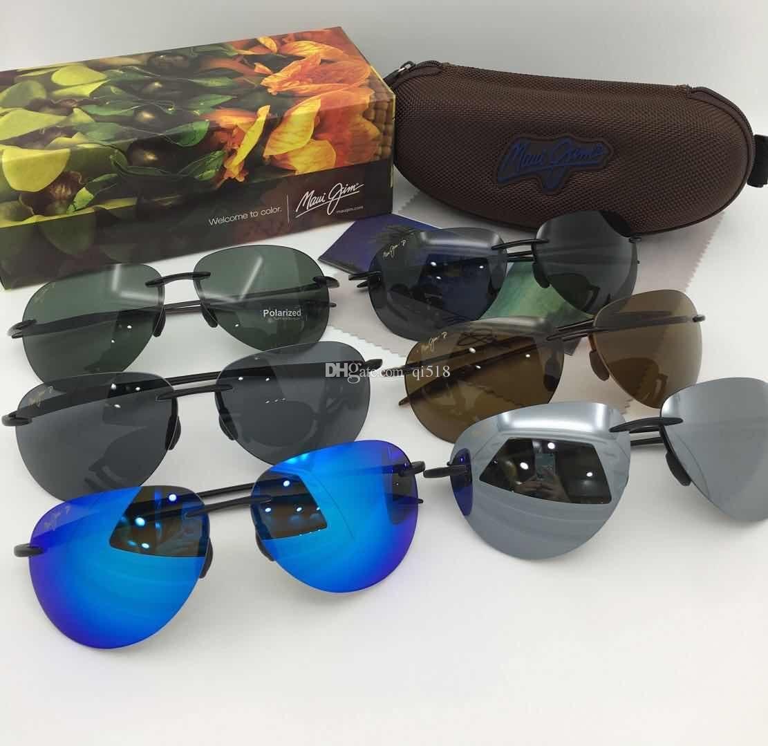 ce0c19fab5a3 Fashion MauiJim Sunglasses MJ 421 Polarized Lens Sun Glasses MJ421 ...