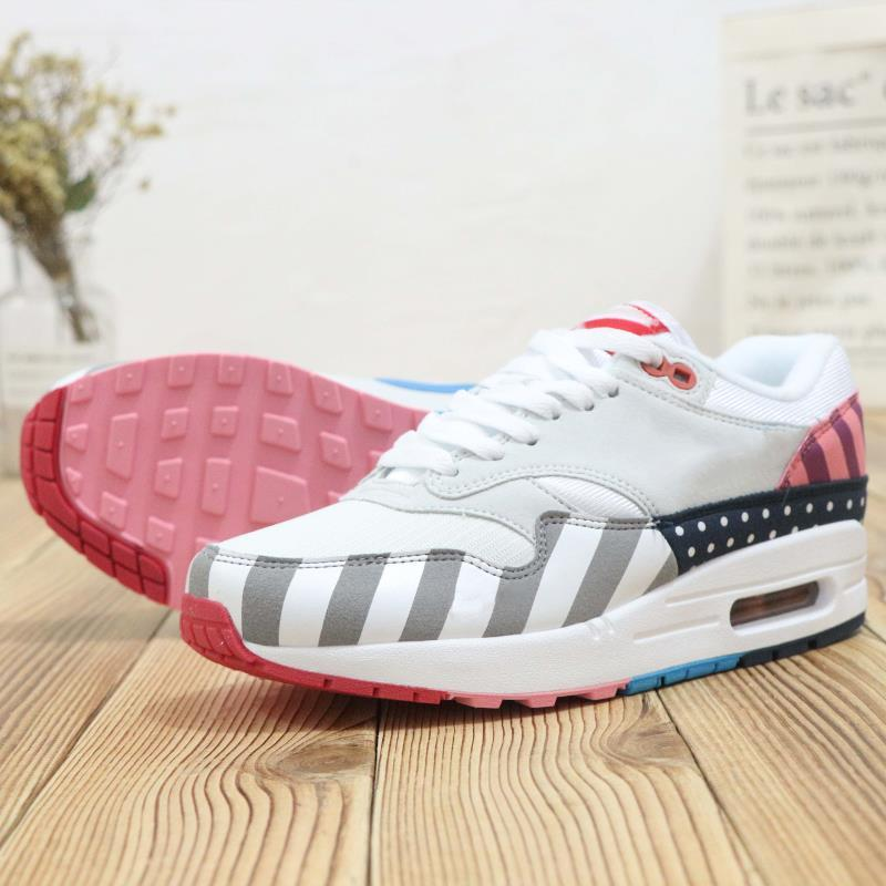 c463edf02d3 with Box New Style Netherland Designer Piet Parra 1 White Multi Running  Shoes Rainbow Park Men Trainers Shoes Womens Sneakers Size 36-44