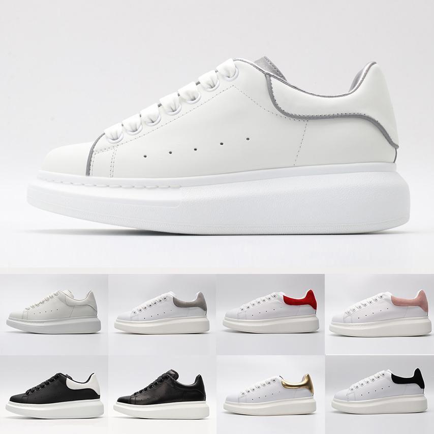 Sport Pour Cuir Alexander Designer 3m Femmes Noir Blanc Chaussures Rouges De 2019 Mcqueen Or Fille Hommes Réfléchissant Baskets Marque Rose Yf6ymIb7gv