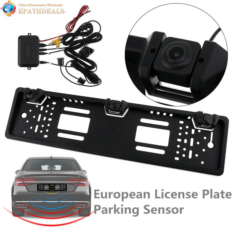 Mouldings & Trim Car Video Waterproof 170° Ntsc License Plate Car Rear View Backup Reverse Parking Camera