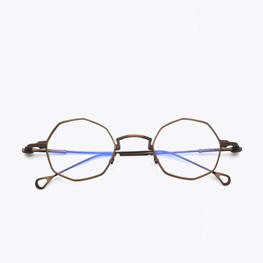 089f693908cd 2019 Vazrobe Small Hexagon Eyeglasses Frame Men Women Fashion Glasses Woman  Nerd Prescription Spectacles Transparent Lens Vintage From Ericgordon, ...