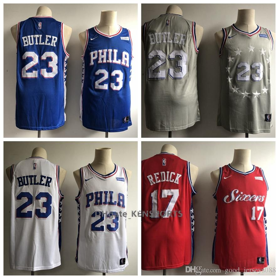 2019 2018 City Edition Philadelphia Basketball 76ers Jerseys 23 Jimmy  Butler 17 17 JJ Redick City Edition ALL Stitched Jerseys From Colorful sun 44ef15bc0