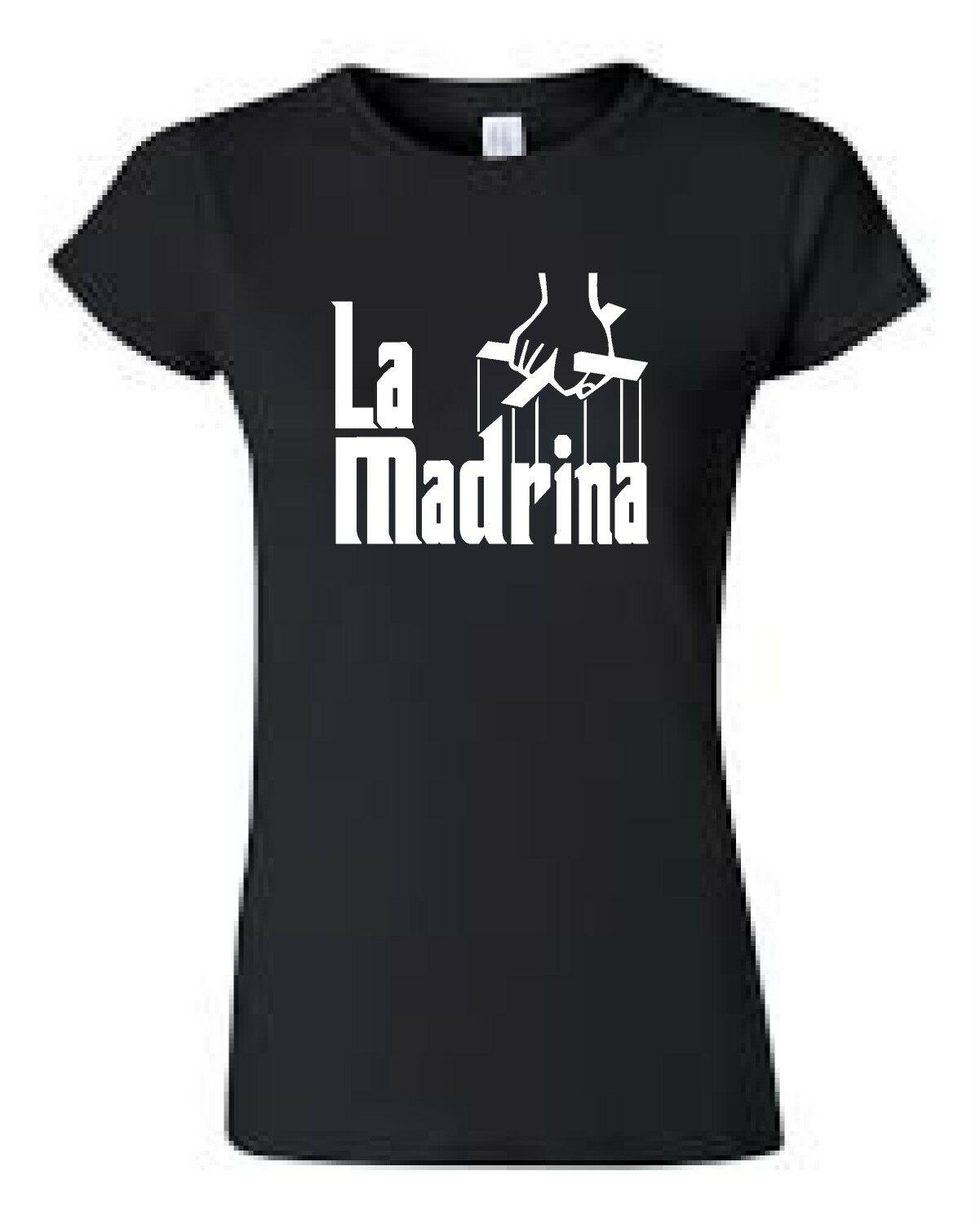 270616809978c La Madrina The Godmother shirt in Spanish Brand New Choose your size Ladies  Fit Cheap Wholesale Tees Free Shipping Cheap Tee
