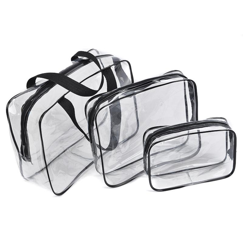PVC Transparent Outdoor Sport Trainning Bag Waterproof Towel Cloth Key Card Bag Case Bottle Phone Holder Train Bags
