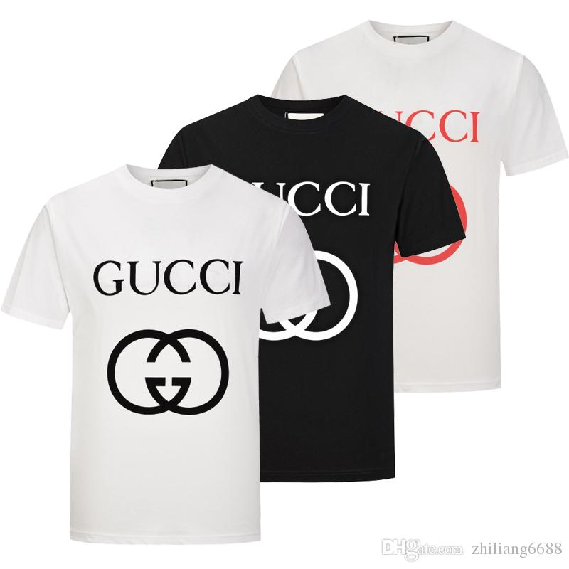 89e170b7 New Trend Men's T-shirts Cotton Short Sleeved Slim Fit Hip Hop 3D ...