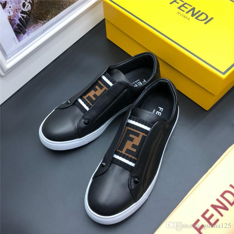 2019 Mens designer shoes Shoe Beautiful Platform Casual Sneakers Luxury Designers Shoes Leather Solid Colors Dress Shoe D02
