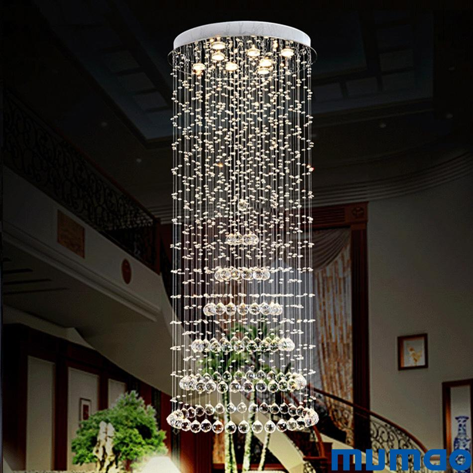 Modern crystal pendant light chandeliers lamp lighting luxury led indoor pendant lamps hanging lights home decoration fixtures