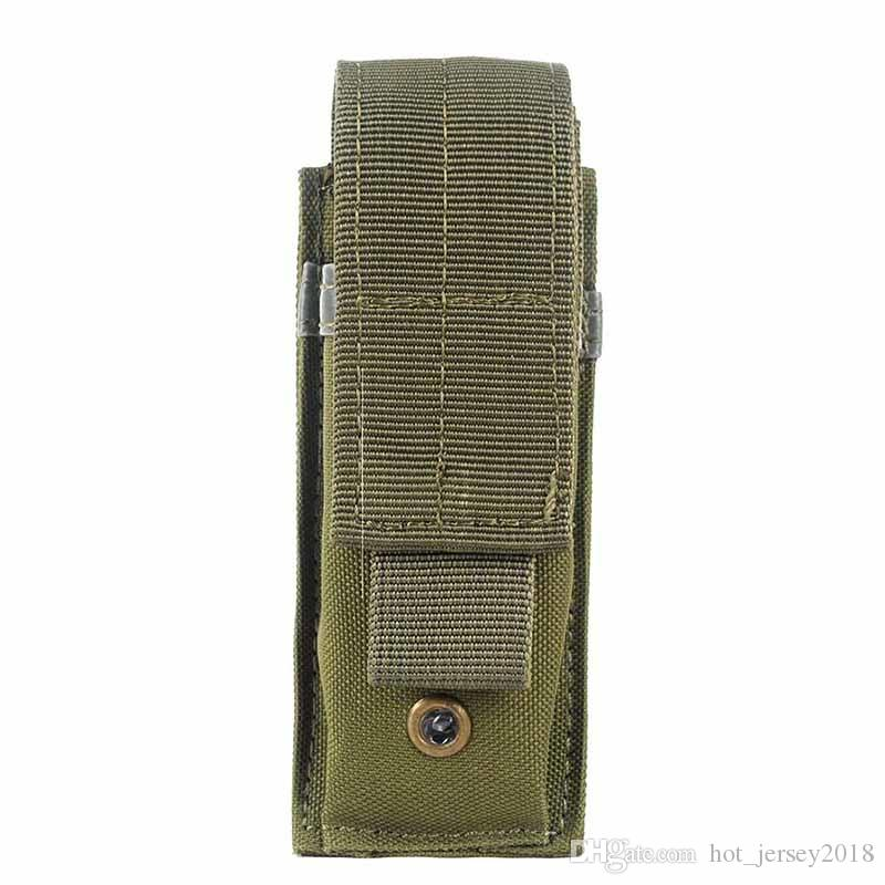 600D Outdoor Tactical Open Top Single Mag Bag Magazine Holster Pouch With Belt Clip #302096