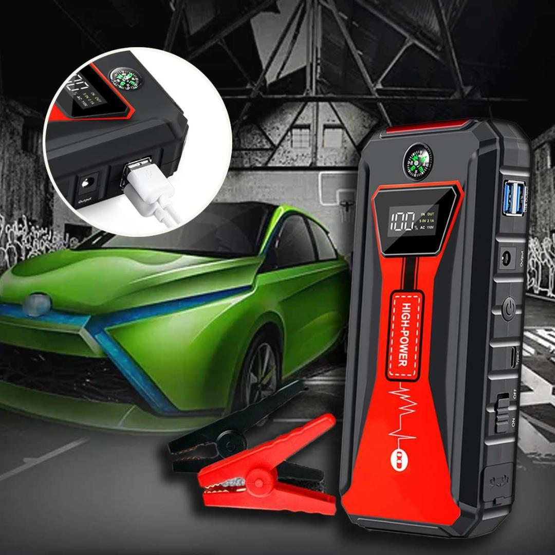 Car Jump Starter for Car Battery Charger Emergency Starting Device Auto Starting High Power Pack Bank For Battery