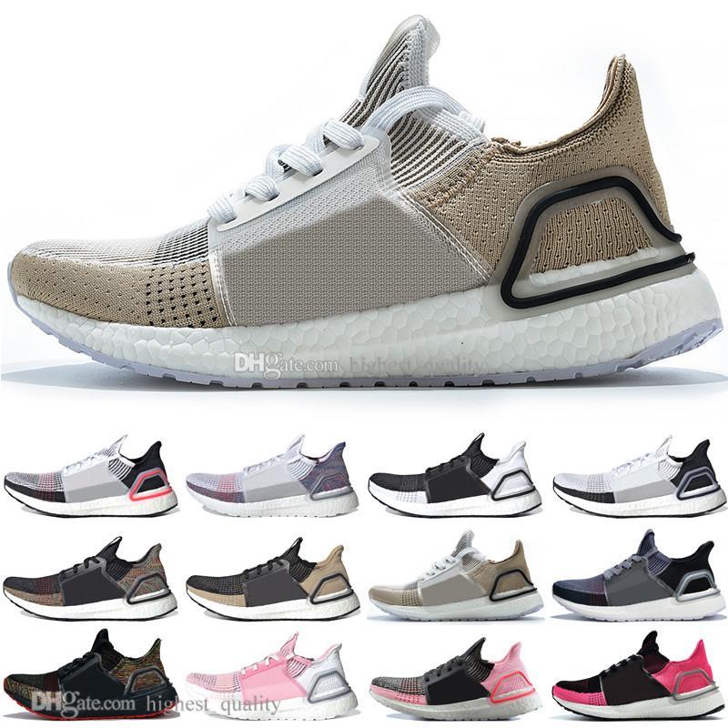 magasin en ligne e8295 c2859 Solde 2019 Ultra Boost 19 Laser Rouge Refract Oreo hommes chaussures de  course pour hommes Femmes UltraBoost UB 5.0 Rainbow Sports Sneakers  Designer ...