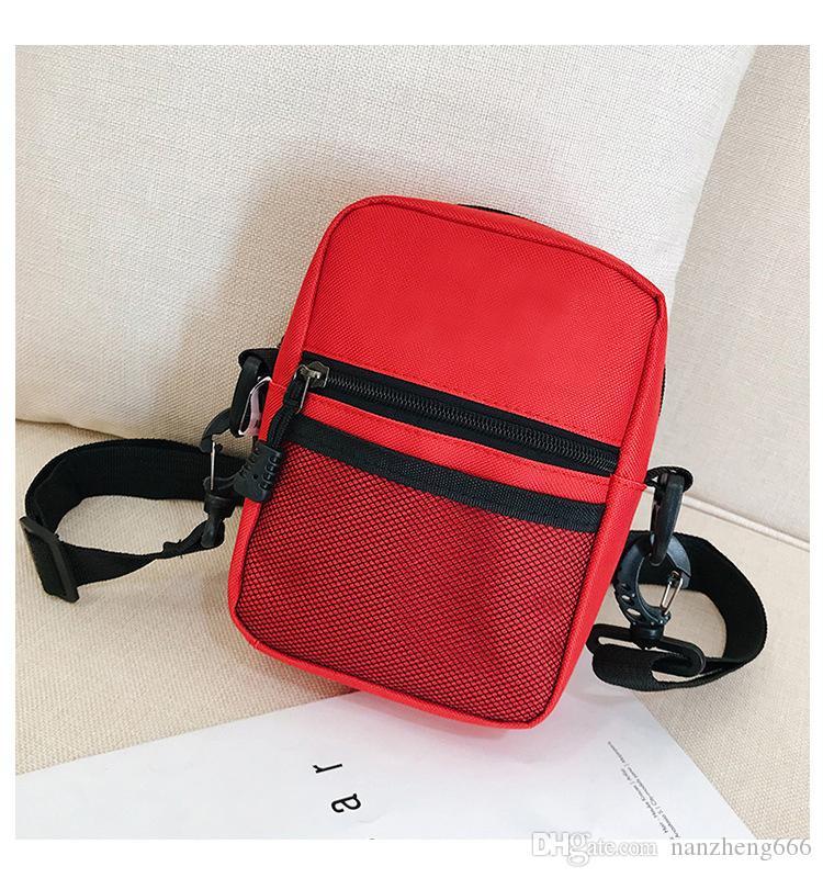 Brand Bag Men And Women Fashion Trend Pockets Hip Hop Dead Fly Sports  Messenger Bag Outdoor Mesh Letter Shoulder Bag Hot Leather Handbags Hand  Bags From ... b3543846006c9