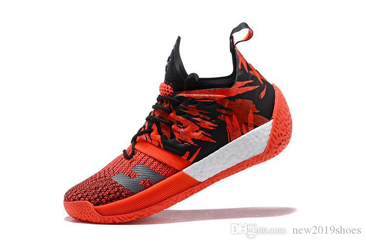736d6164b62f Top 2019 James Harden Vol.2 Orange Green Basketball Shoes Mens Harden Vol 2  Athletic Casual Sneakers For Sale Size 41 45 Purple Shoes Scholl Shoes From  ...