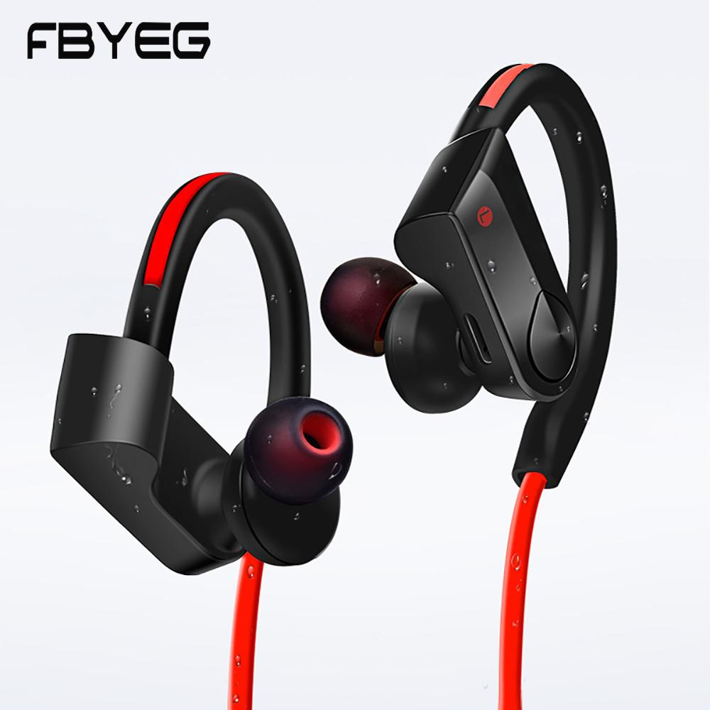 Pop Sports Ergonomic Waterproof 3d Stereo V5.0 Bluetooth Earphone With Charge Box Sports Bluetooth Earphone Big Clearance Sale Earphones & Headphones