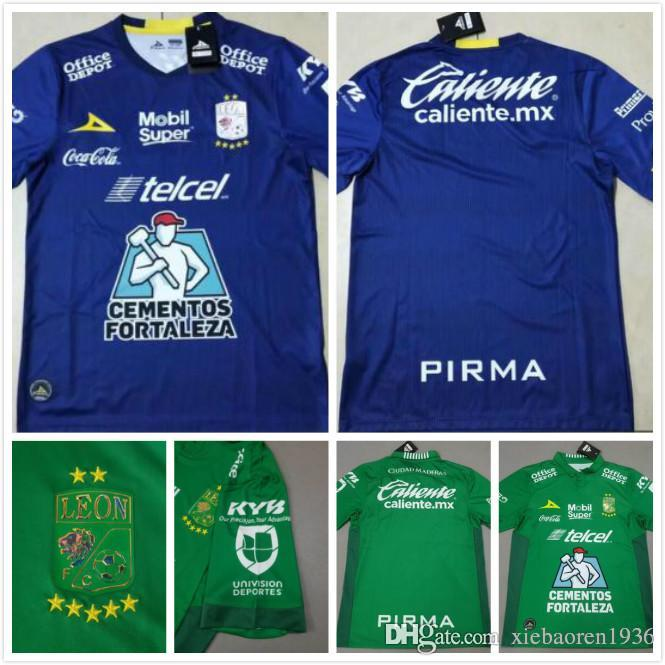 competitive price c65c2 68de1 New 2019 2020 Club Leon F.C. Soccer Jersey 19 20 Liga MX club Leon home 3rd  football shirts S-2XL