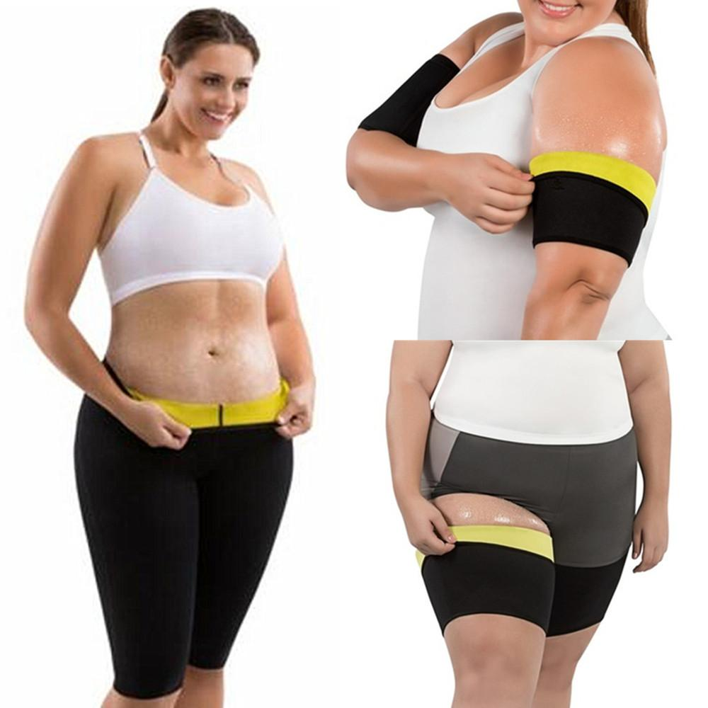 3a0716985e 2019 Shapers Modeling Belt Neoprene Sauna Pants Shapewear Women Shapers Hot  Leg Trainer Sleeves Modeling Slimming Trimmer Arms Girdle From Beenni
