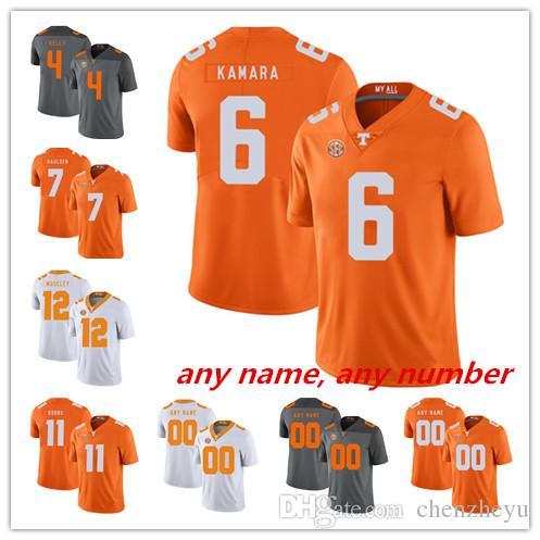 buy popular c942b d781f NCAA Tennessee Volunteers #4 Britton Colquitt 7 Jerod Mayo 21 Jalen  Reeves-Maybin 27 Arian Foster White Orange White College Football Jersey