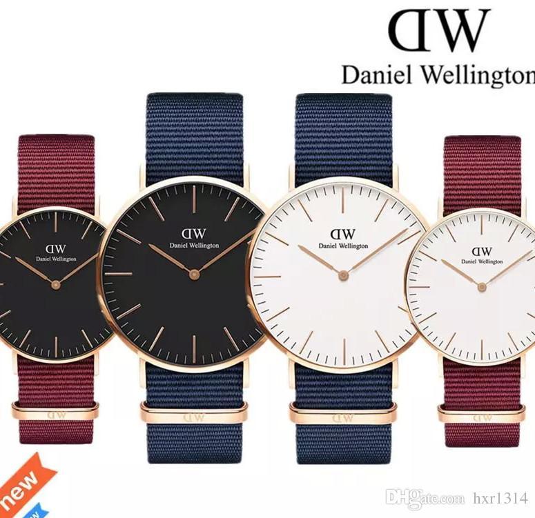 044b267c5d2f6 2018 New Daniel Watches 40mm Men Watches 36mm Women Watches Luxury ...