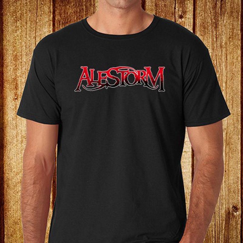 51e614237f2 New Alestorm  Logo Heavy Metal Band Men S Black T Shirt Size S 3XL Men Women  Unisex Fashion Tshirt Shirt Designs Best T Shirts From Besttshirts201803