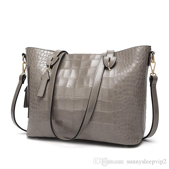 MAGICYZ Women Famous Brand Designer Luxury Leather Handbags Women Messenger  Bag Ladies Shoulder Bags Crossbody Crocodile Bag Leather Bags Shoulder Bags  From ... 99cb29b60bf36