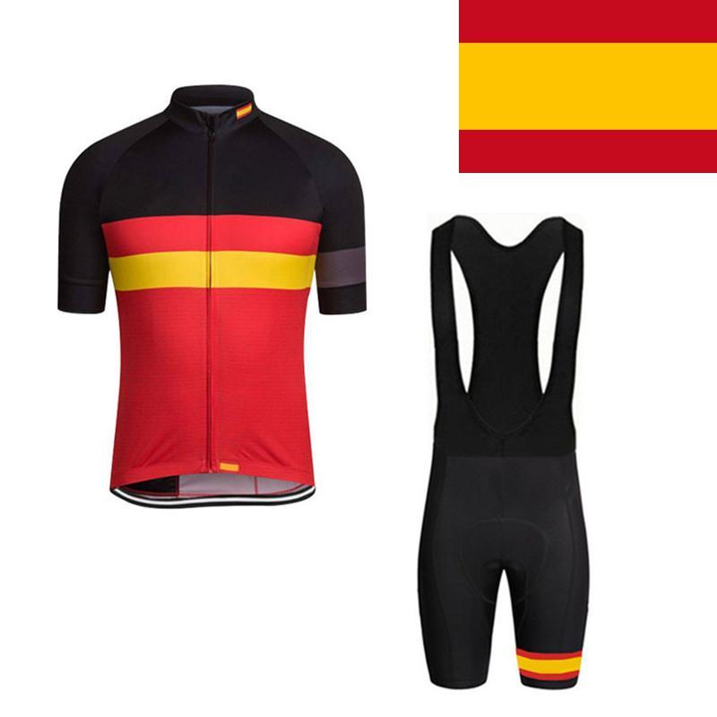 Bandera De España Ciclismo Jersey Ropa De Equipo De Ciclismo De Montaña  Mujer Hombre Ropa De Ciclismo Ciclismo Roupa Ropa Deportiva De Verano De  Secado ... 57014eee34954