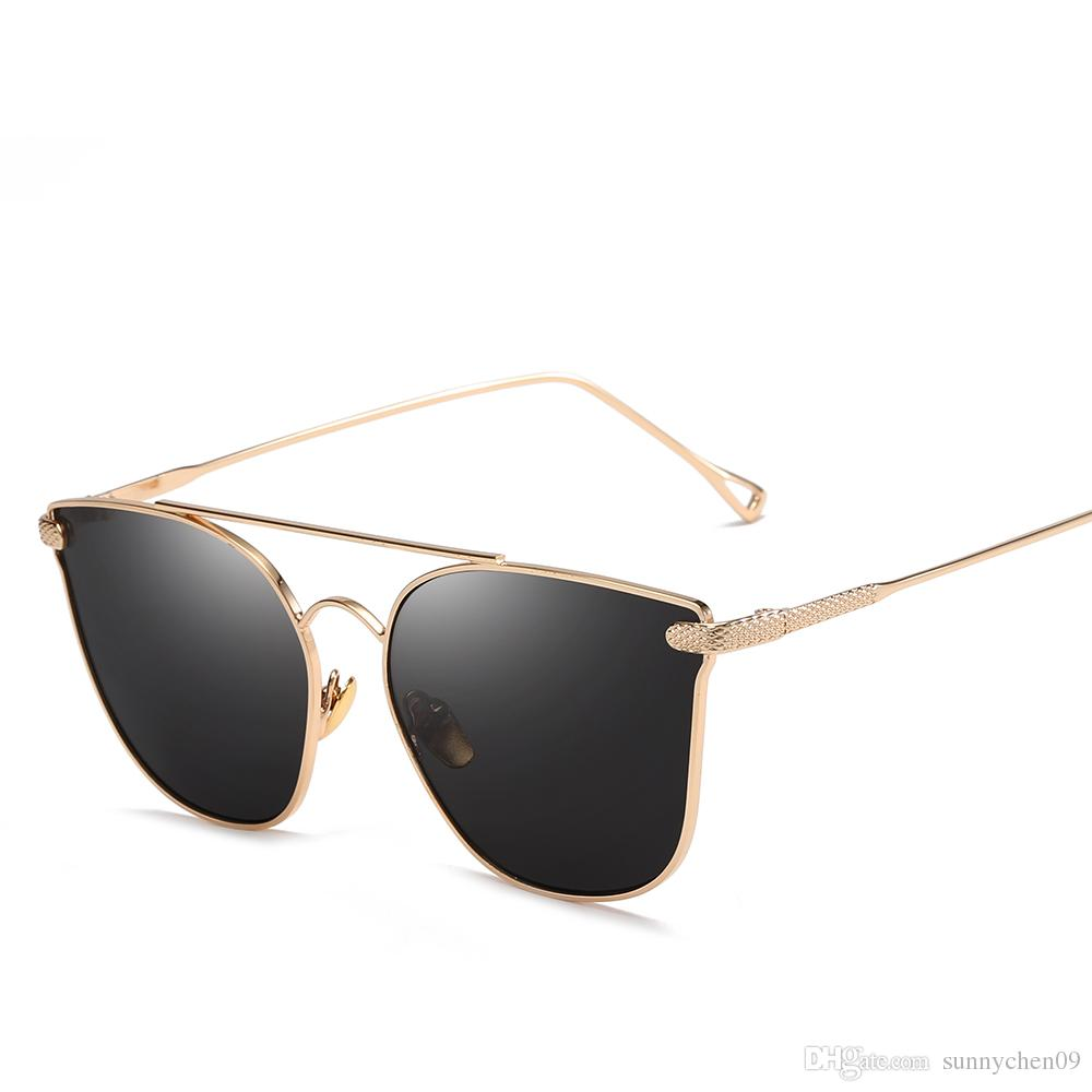 7a35446a8ae High Quality Brand Designer Sunglasses Fashion Men Women UV Protection  Retro Eyewear Metallic Color Film Vintage Sun Glasses Sunglasses Shop Bolle  ...