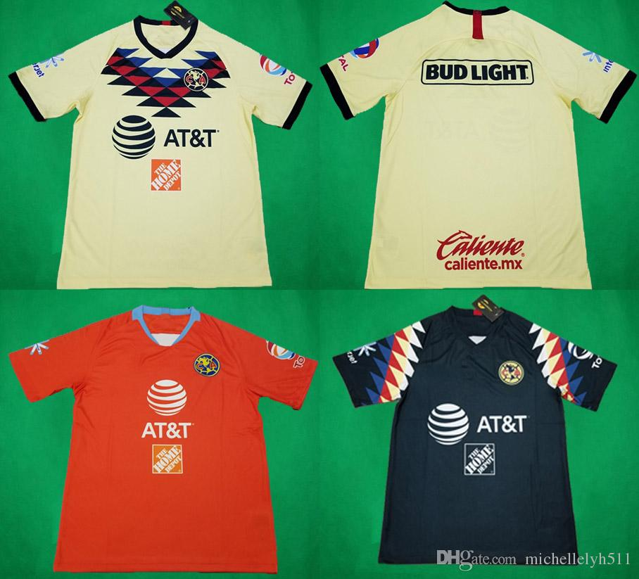 5739eebfd61 2019 19 20 LIGA MX Club America Soccer Jerseys Home Away Third Football  Jersey 2019/20 P.AGUILAR C.DOMINGUEZ O.Peralta C.DOMINGUEZ Football Shirt  From ...