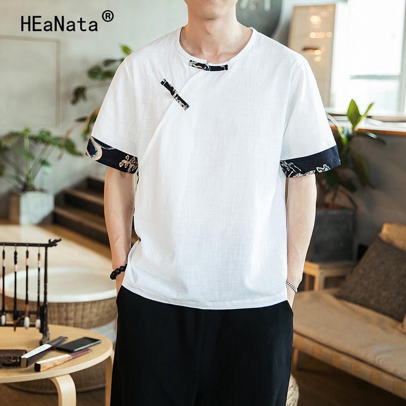 d21a673acabb 2019 New Men Patchwork Short Sleeve T Shirts Streetwear Summer ...