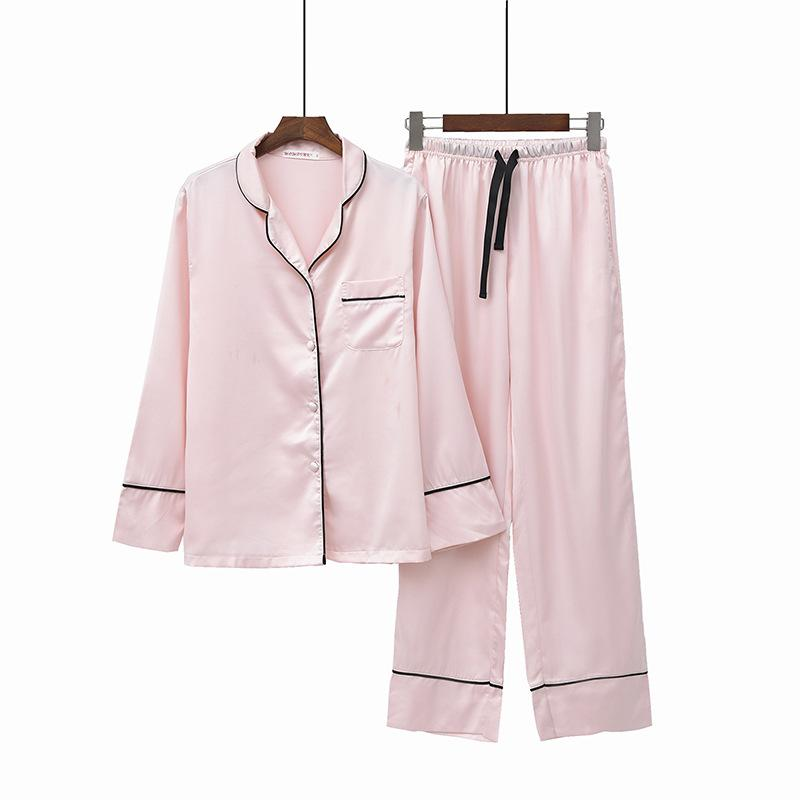 Ice Silk Cool Cotton Short-sleeved Pajamas Can Be Worn Outside The Knitted Mesh Solid Color Home Service Suit Men's Pajama Sets Men's Sleep & Lounge