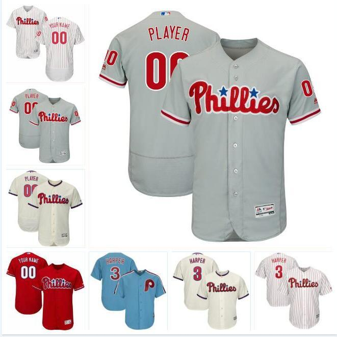 new product bd292 b3b6e Philadelphia bryce harper phillies jersey baseball jerseys custom cheap  shirts cheap cool flex base spring jersey Jean Segura mens 4xl