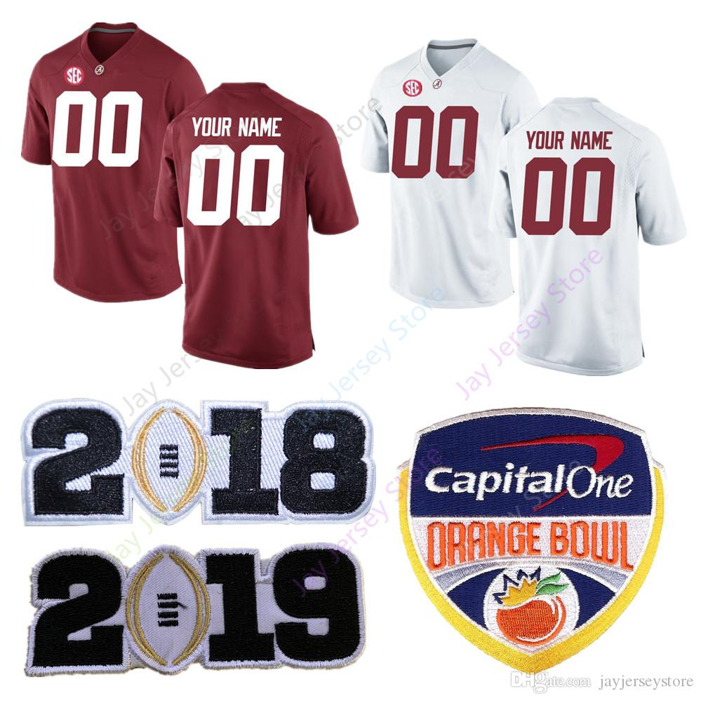 super popular bbf89 af3e2 Custom Blank Alabama Crimson Tide Football Jersey Men Women Youth Kid size  S to 4XL 5XL Evan Neal Trey Sanders Tagovailoa Jeudy Pierce Quick