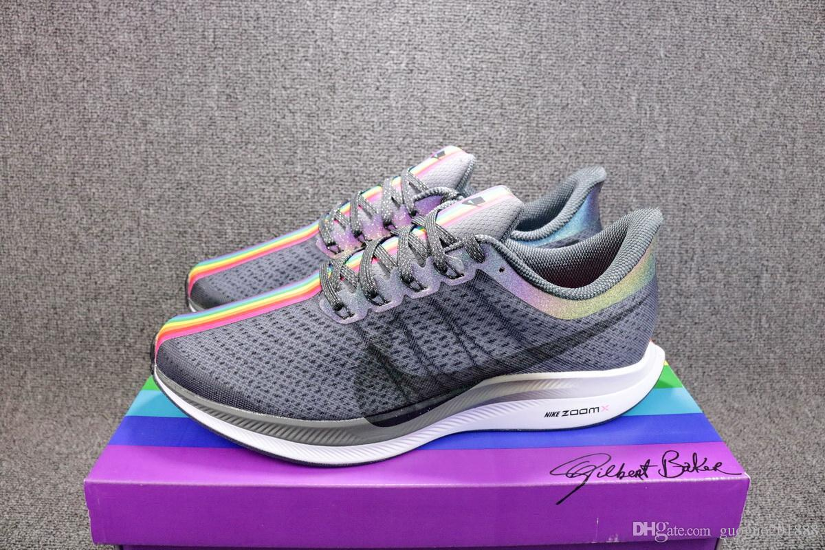 official photos e8839 4b013 New Hight Quality AIR ZOOM PEGASUS 35 TURBO Triple Black Men and Women  Sport Running Shoes Mesh Runner Trainers Sneakers