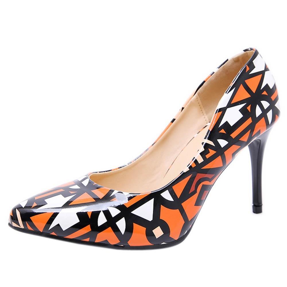 e205b2b16d89 Designer Dress Shoes Fashion High-Heeled Women Shoe Patent Leather Pointed  Shallow Shoe Wedding Hot Sale