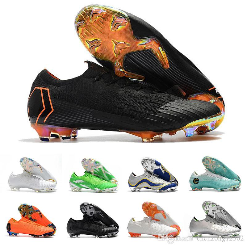 738a3cd2005 2019 Mercurial Superfly VI 360 Elite FG KJ 6 XII 12 CR7 Ronaldo Neymar Mens  Women Low Soccer Shoes 20th Football Boots Size 40 46 From Chenzong12302