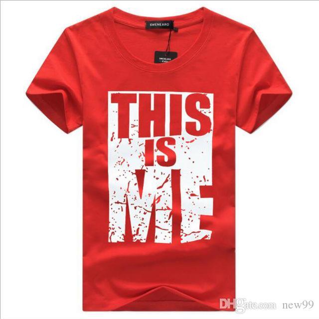 Camiseta Yo Diseñador Nueva Hombre Tecnología A De Estoy Polo Marca Estampada Ropa Hombres Hip Hop Moda Carta Compre Casual Para twPgCv0q